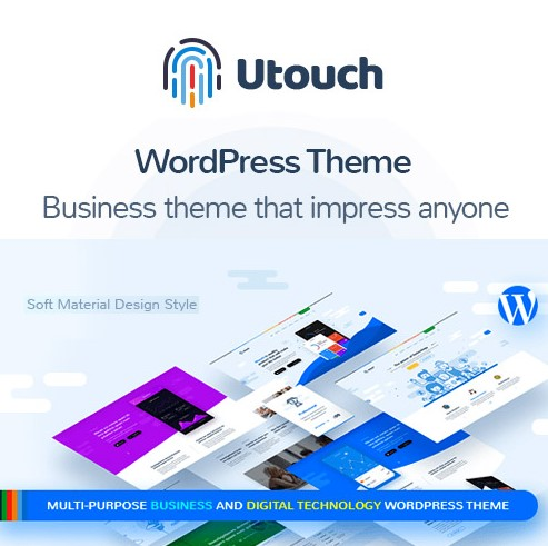 Utouch Startup – Business and Technology WordPress Theme