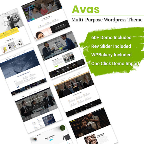 Avas WordPress Theme