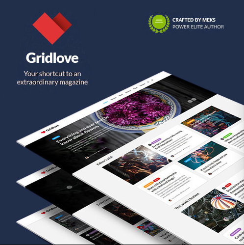 Gridlove WordPress Theme