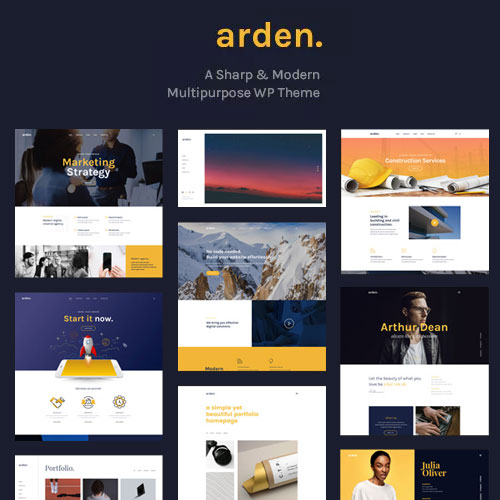 Arden WordPress Theme
