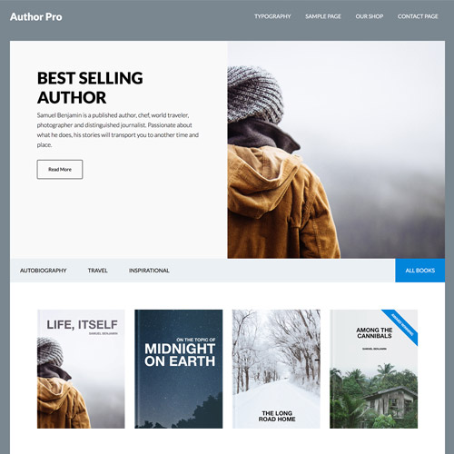 Author Pro WordPress Theme