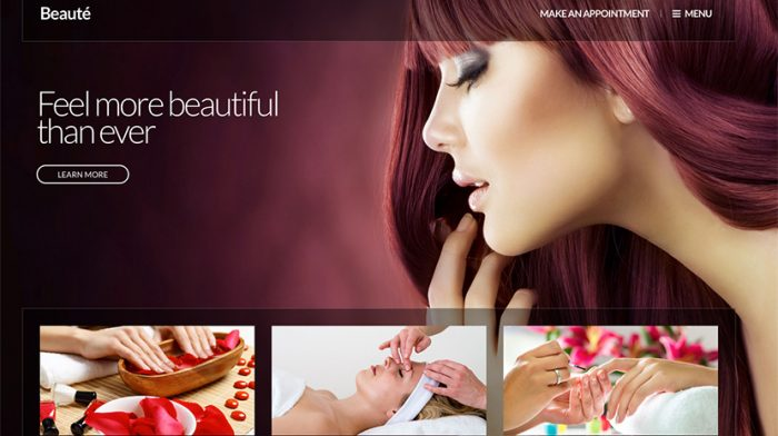 Beaute WordPress Theme