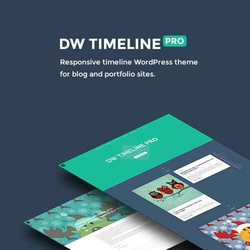 DW Timeline Pro WordPress Theme
