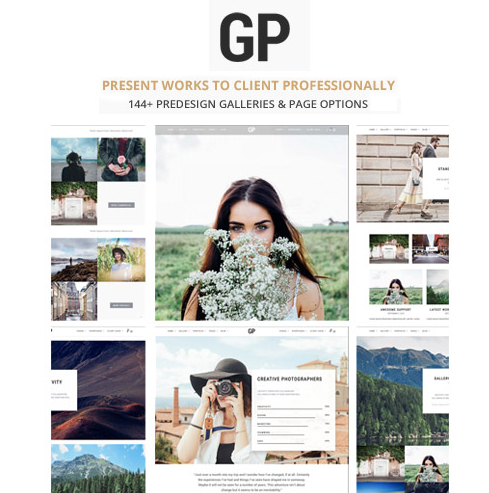 Grand Photography WordPress Theme