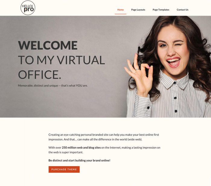Hello Pro WordPress Theme