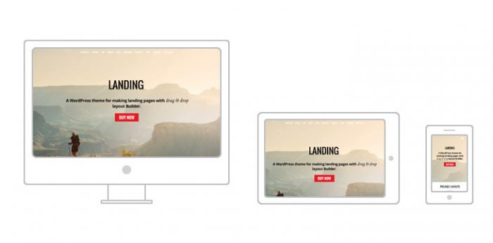 Landing WordPress Theme