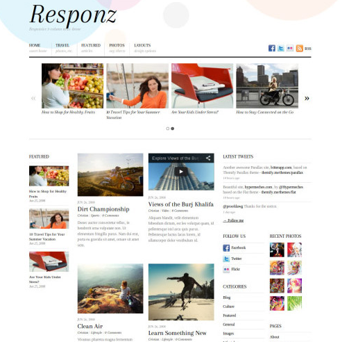 Responz WordPress Theme