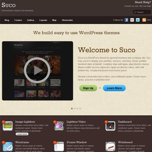 Suco WordPress Theme