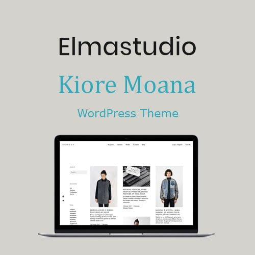 ElmaStudio Kiore Moana WordPress Theme
