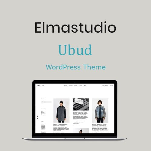 ElmaStudio Ubud WordPress Theme