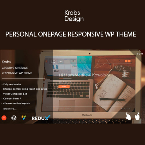 Krobs WordPress Theme