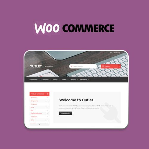 Outlet Storefront WooCommerce Theme