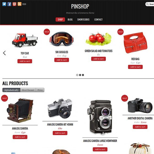 Themify Pinshop WooCommerce Theme